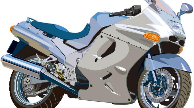 オートバイクのイラスト